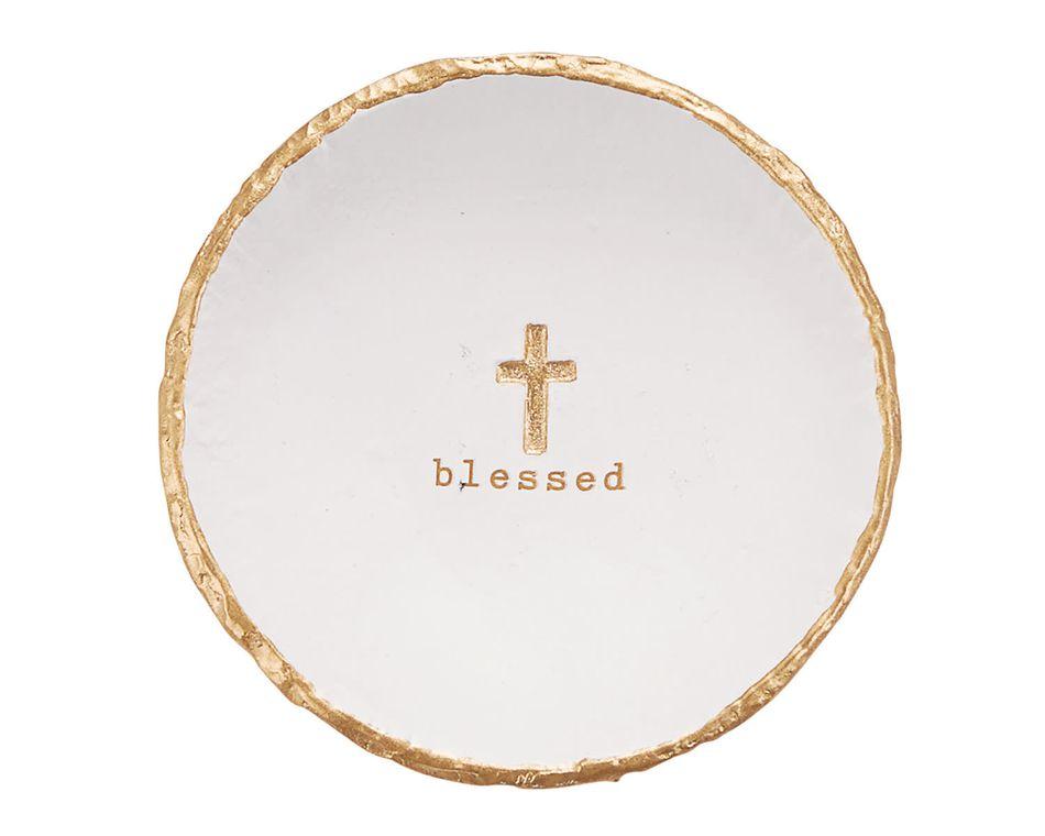 Mud Pie 'Blessed' Trinket Dish