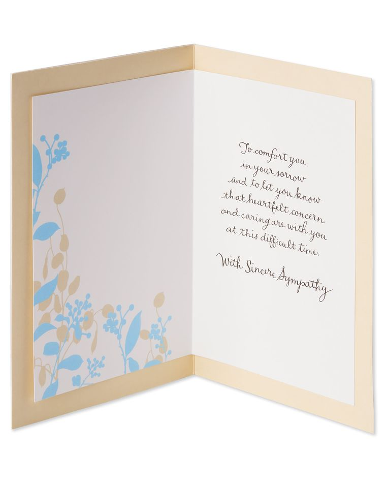 Cherished Sympathy Card