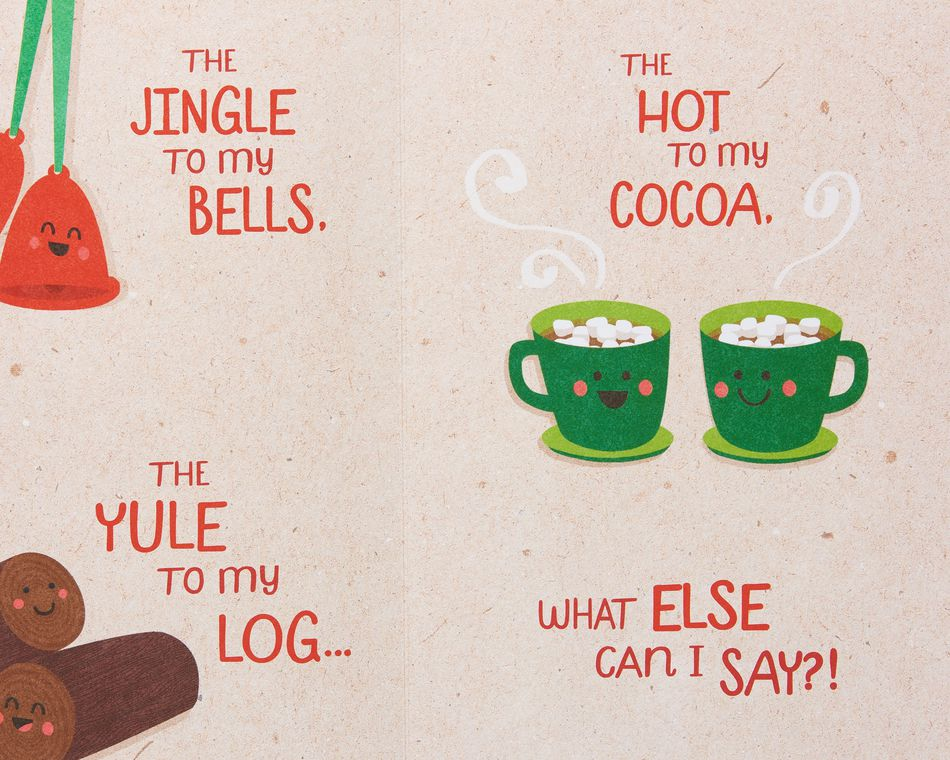 Funny Christmas Card for Wife
