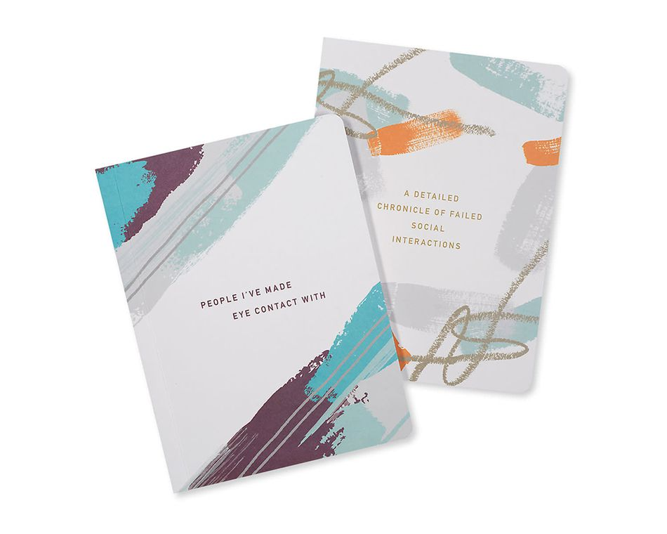 social wins and losses journals (set of 2)