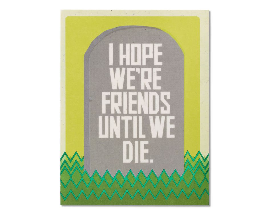 Ghost-Friends Thinking of You Card