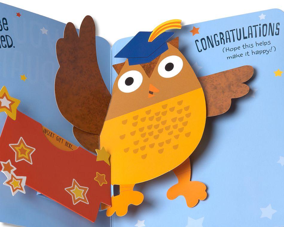 Owl Graduation Card
