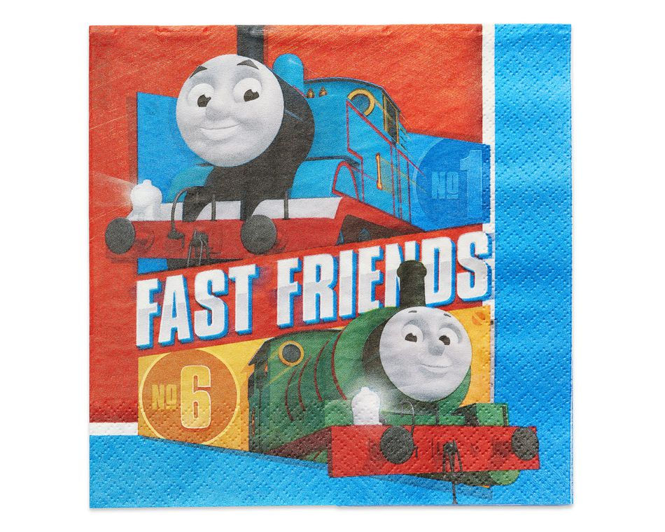 Thomas the Tank Lunch Napkins, 16 Count