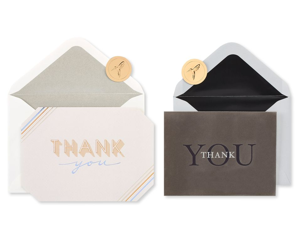 Business Thank You Greeting Card Bundle, 2-Count