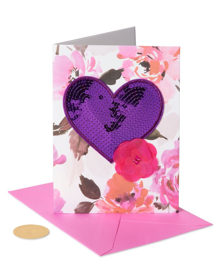 Love Calligraphy Valentine's Day Greeting Card