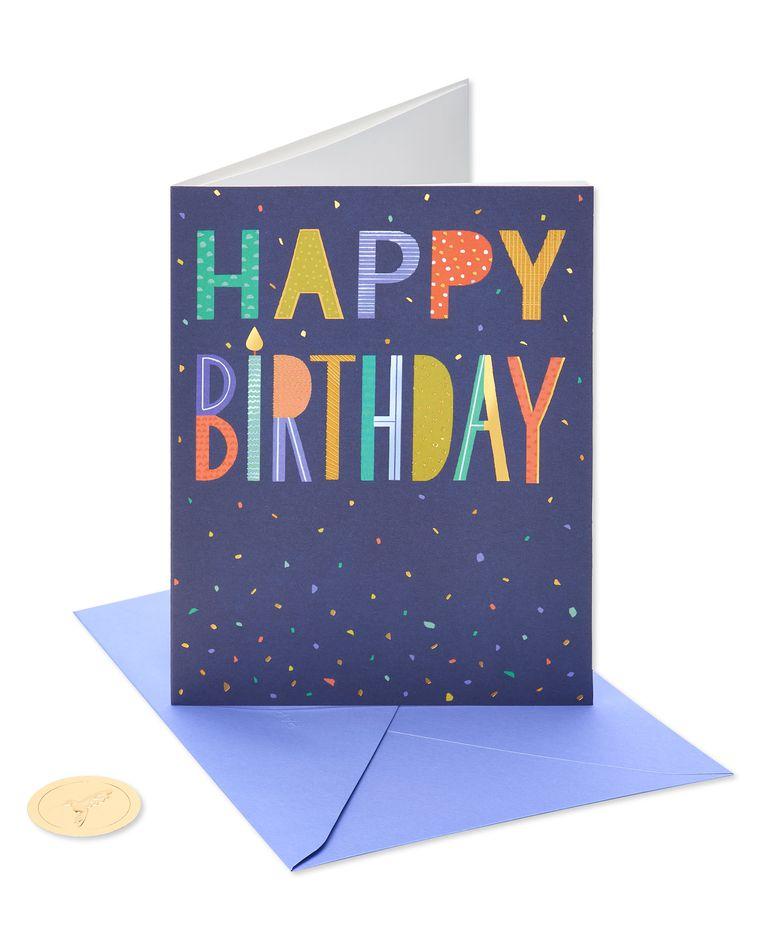 A Million Good Things Birthday Greeting Card