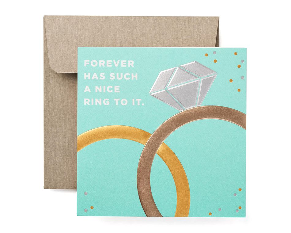 Forever Congratulations Card