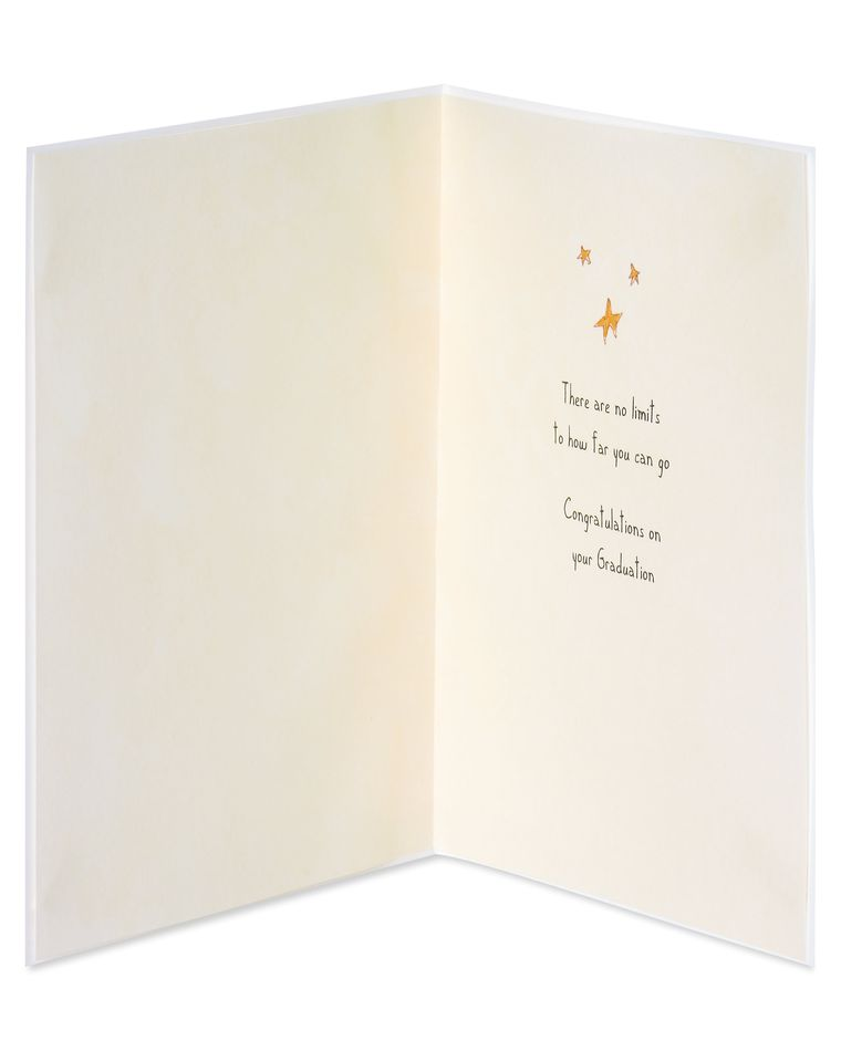 Star Graduation Greeting Card