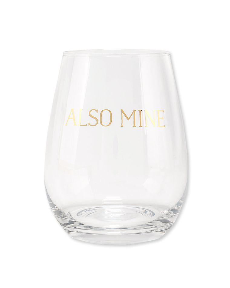 mine & also mine wine glasses (set of 2)