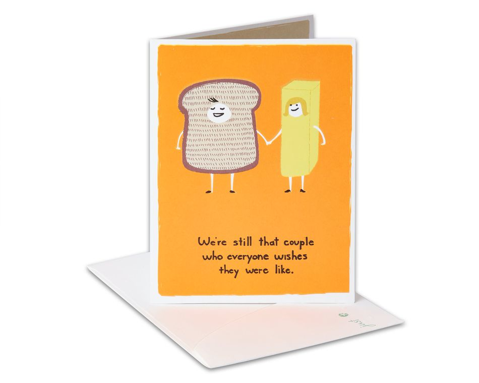 Bread and Butter Anniversary Card
