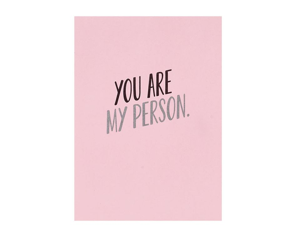 My Person Romantic Card