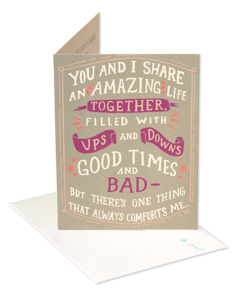 Amazing Life Father's Day Card for Husband