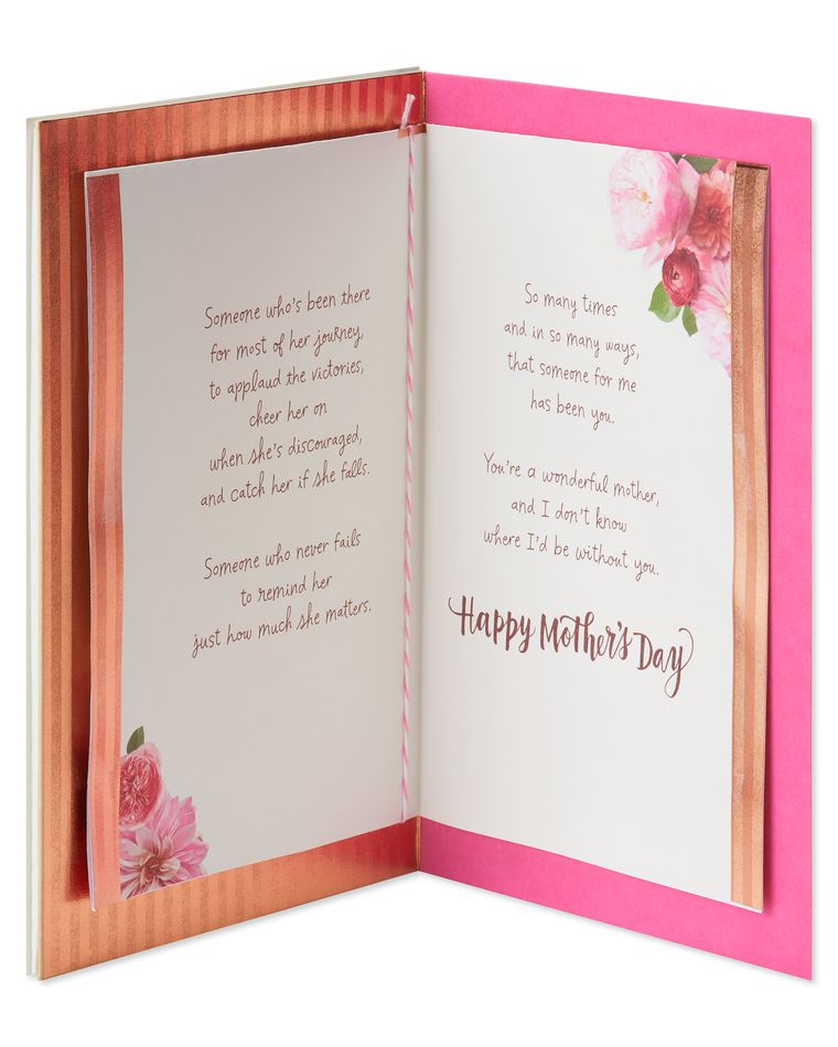 Floral Mother's Day Card from Daughter