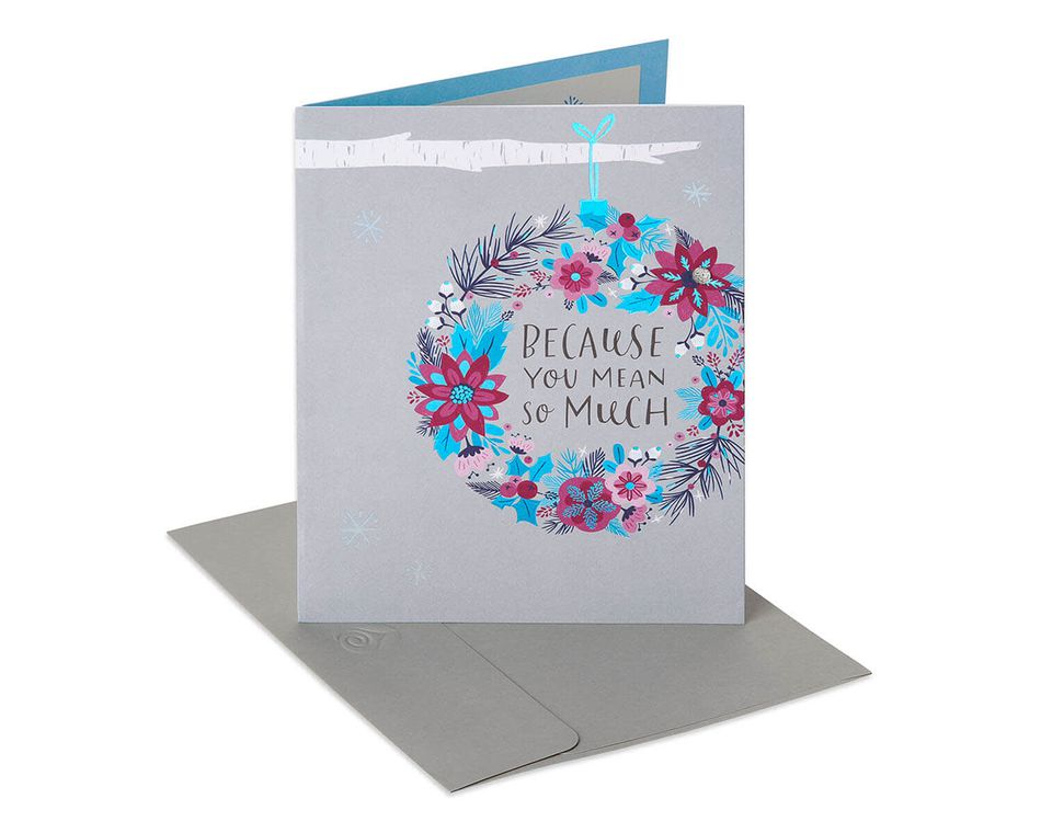 Mean So Much Christmas Gift Card Holder