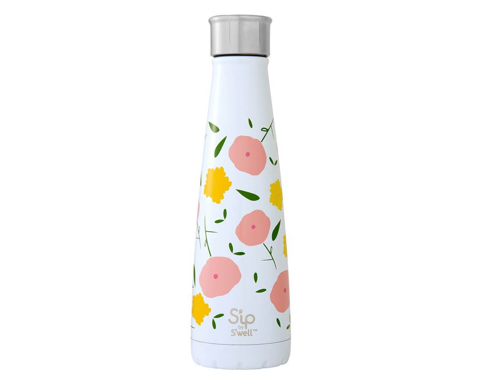 S'ip By S'well 15 Oz. Poppy Culture Stainless Steel Water Bottle