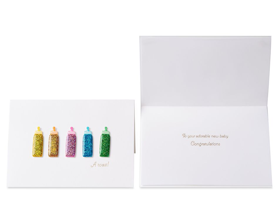 Baby Greeting Card Bundle, 3-Count