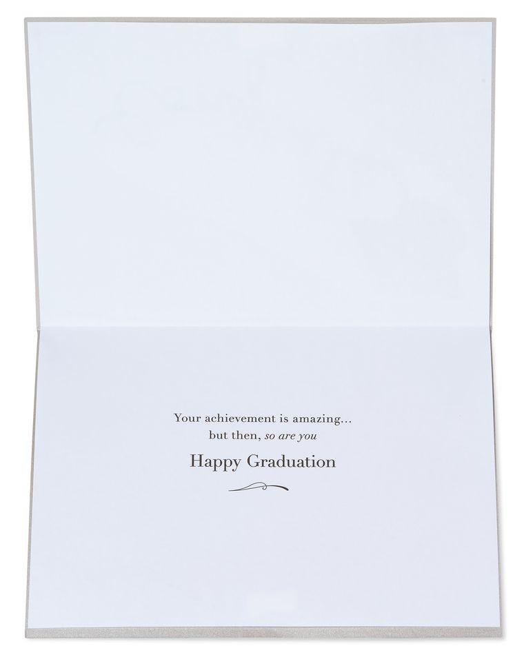 Mortarboard Graduation Greeting Card