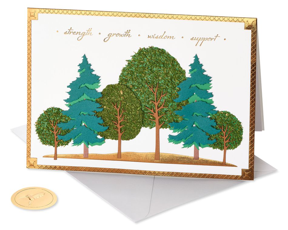 Forest Father's Day Greeting Card