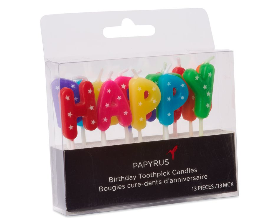 Happy Birthday Candles, 13-Count