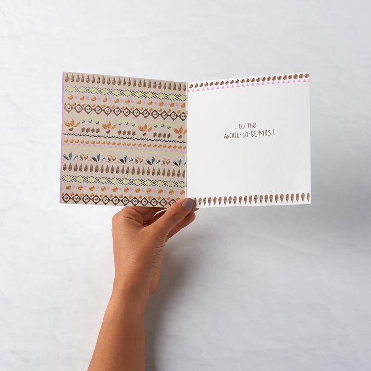 Umbrella Bridal Shower Card