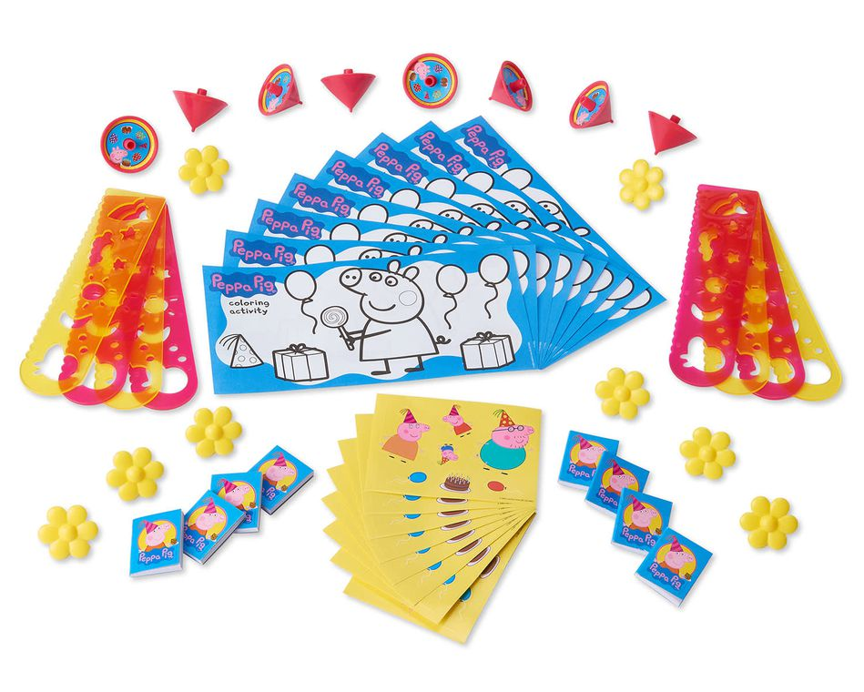 Peppa Pig Party Favor Pack, Value Pack