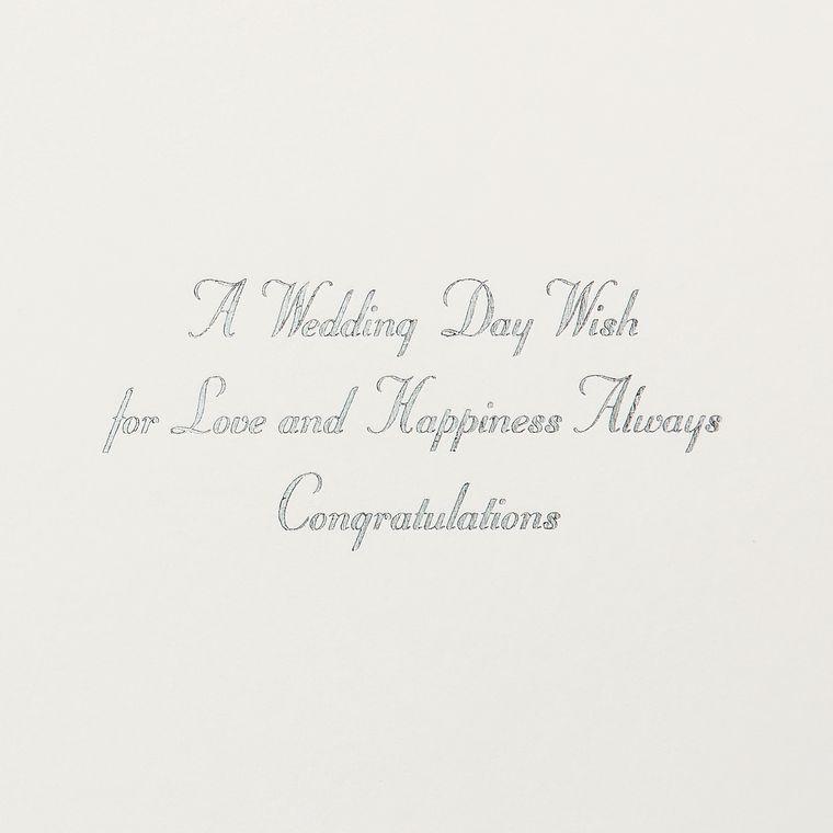 Wedding Day Wish Wedding Greeting Card