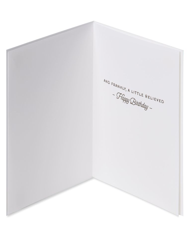 Fine Person Funny Birthday Greeting Card