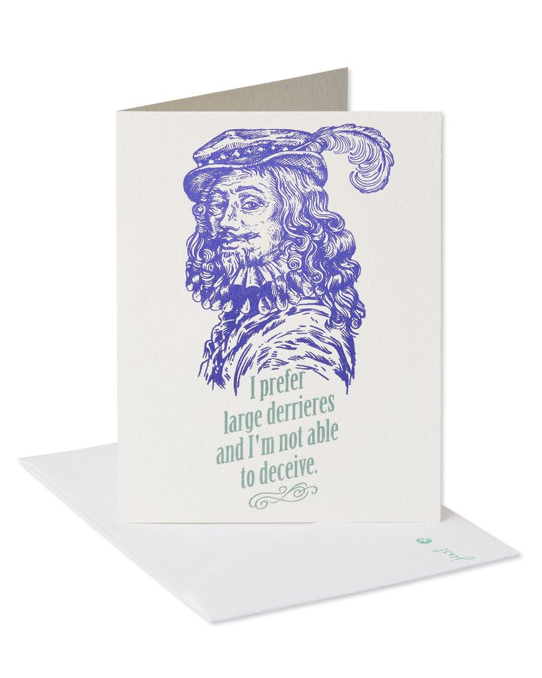 Man Who Knows Birthday Card