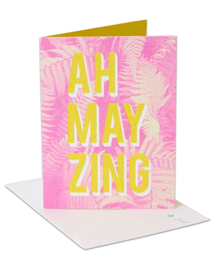 Ah-may-zing Congratulations Card