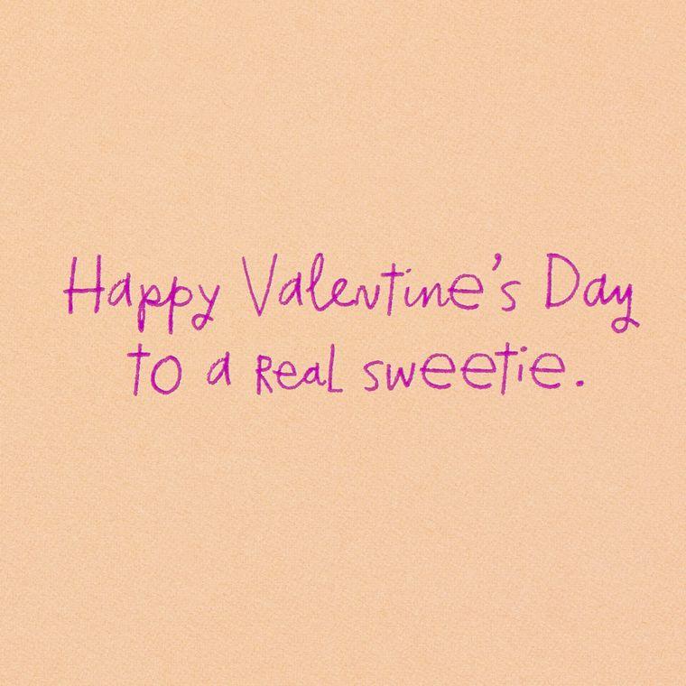 Donut Valentine's Day Card