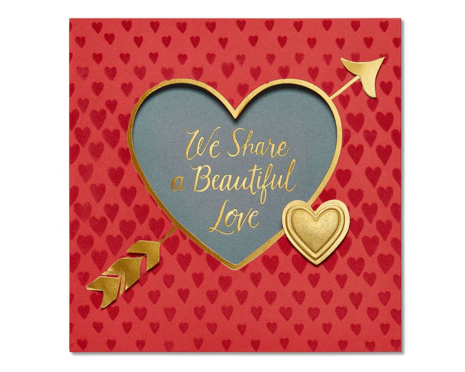 beautiful love valentine's day card