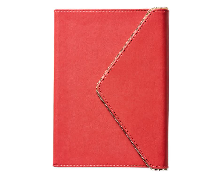 Eccolo Envelope Gold Zipper Journal