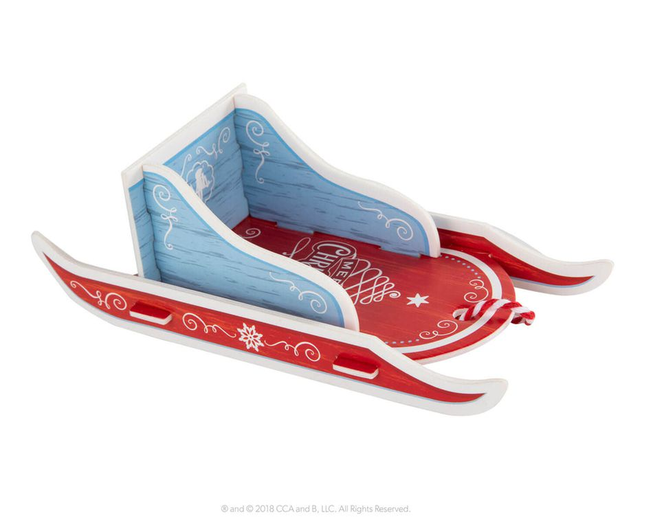 The Elf on the Shelf® Orna-Moments, Snow Day Sled