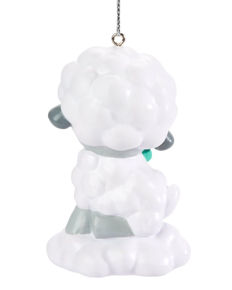 Godchild Lamb Christmas Ornament