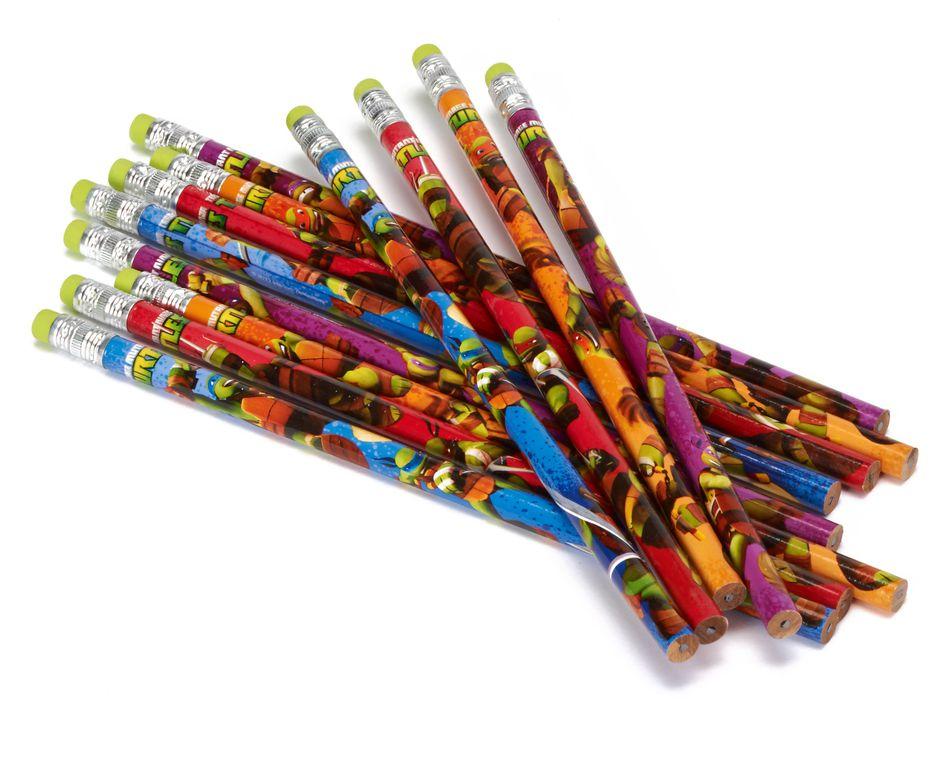 teenage mutant ninja turtles pencils 12 ct