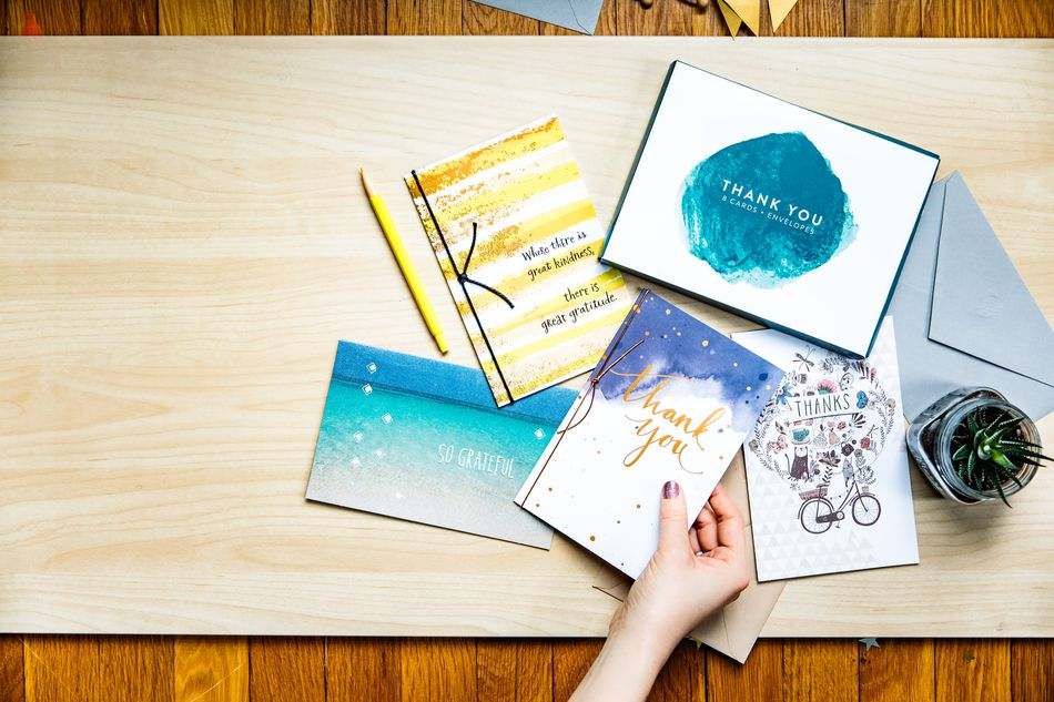 Thank You Greeting Card Collection Lifestyle Image