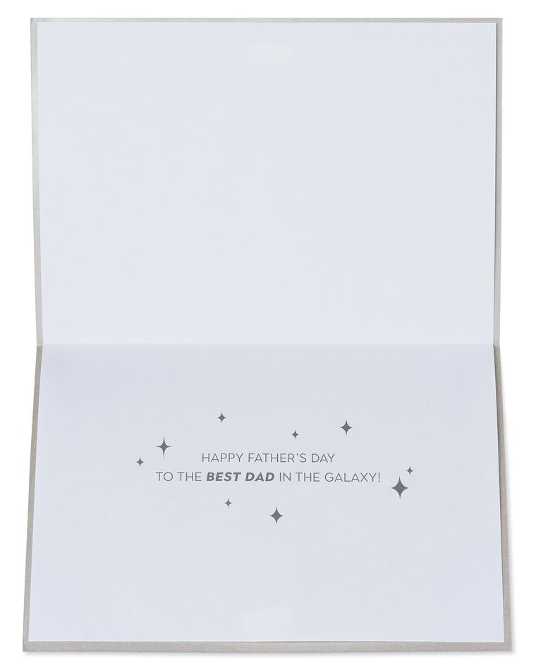 Best Dad In The Galaxy Father's Day Greeting Card