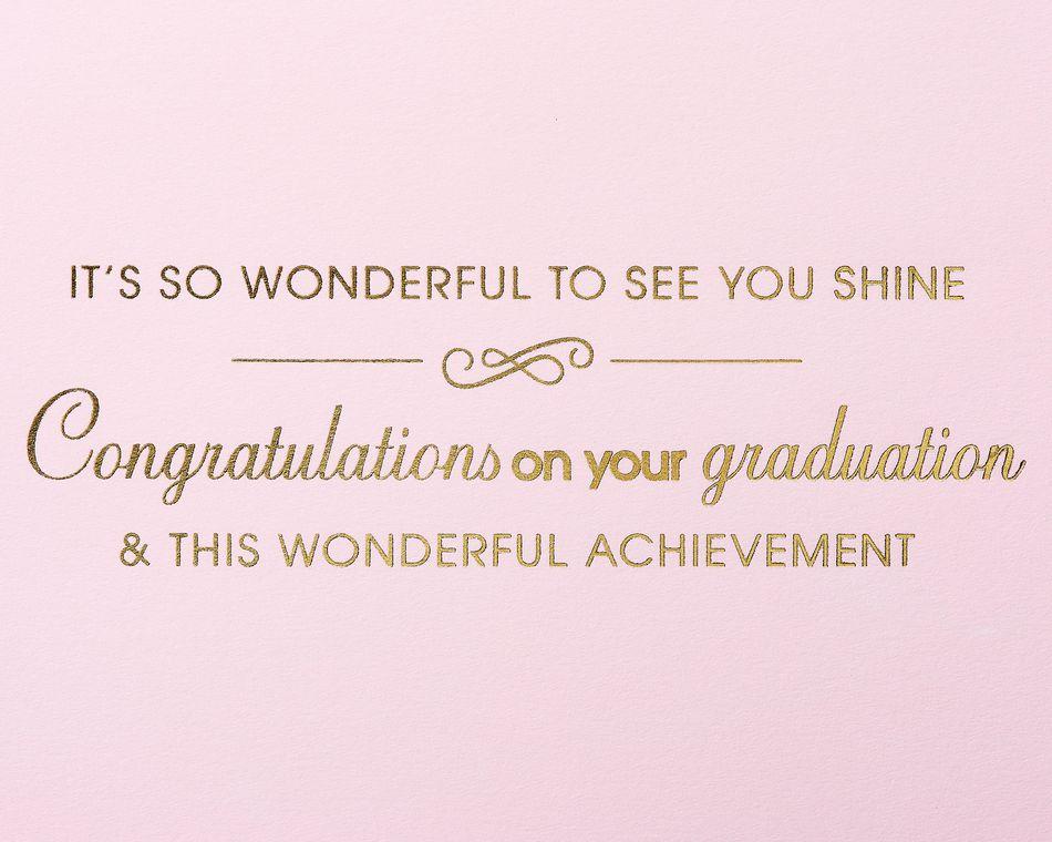 Wonderful Achievement Graduation Greeting Card