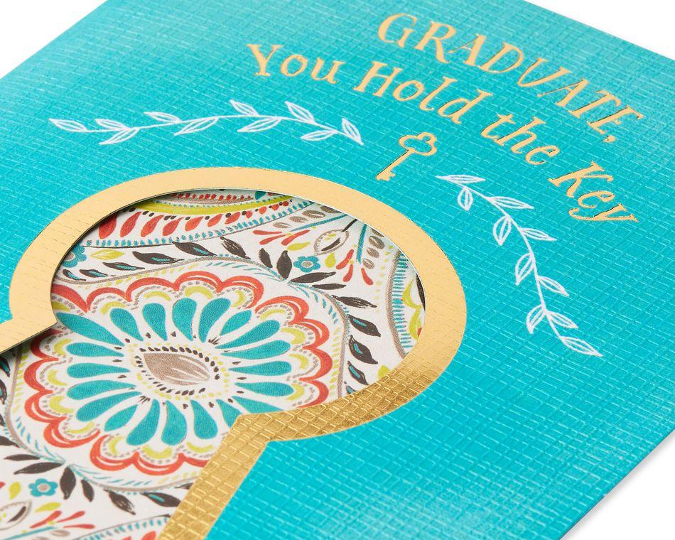 Key Graduation Card