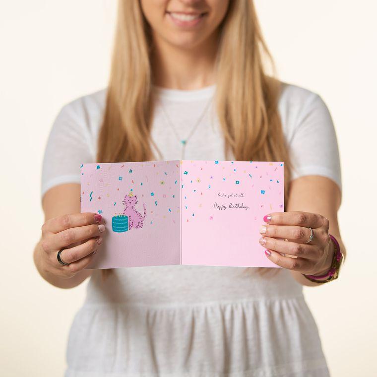 Purrsonality Birthday Card