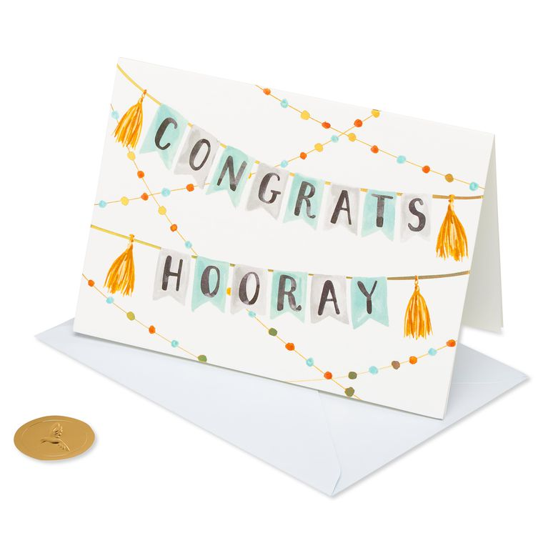 Banner Congratulations Greeting Card