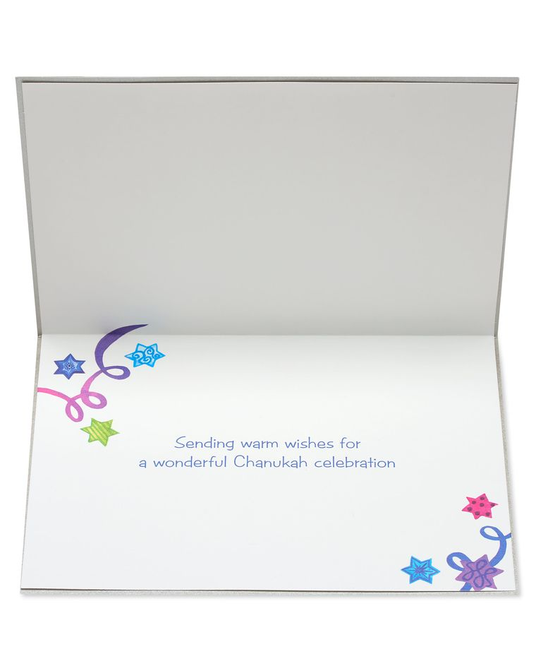 Celebration Hanukkah Greeting Card