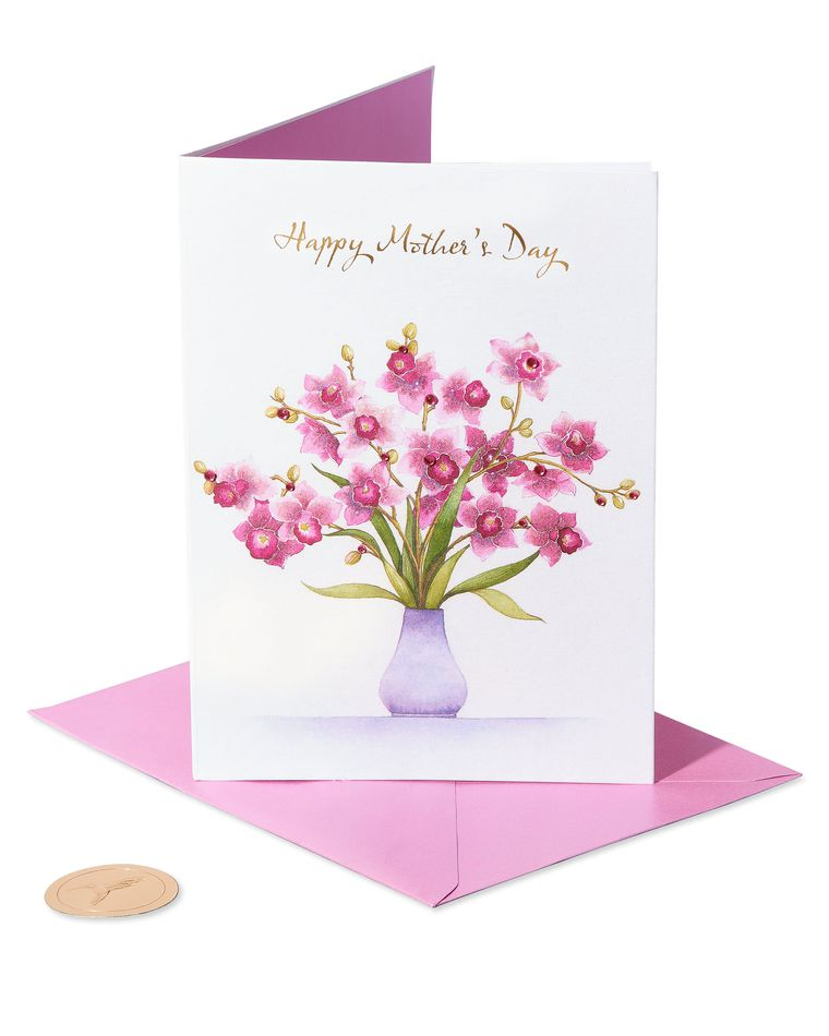 Orchids Mother's Day Card