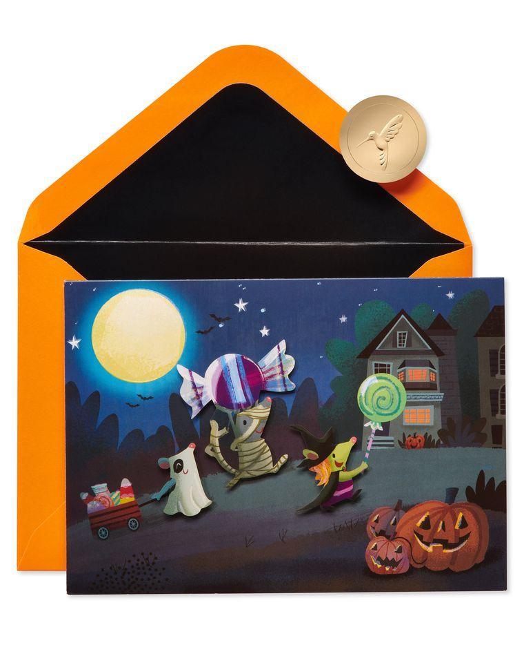 Sweet Wishes Halloween Greeting Card