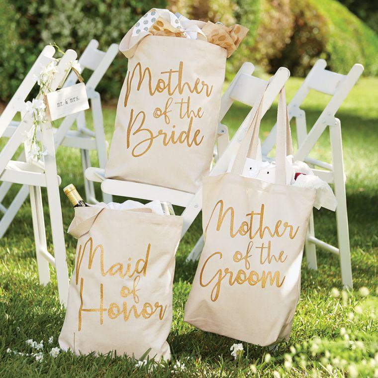 Mud Pie Maid Of Honor Wedding Canvas Totes