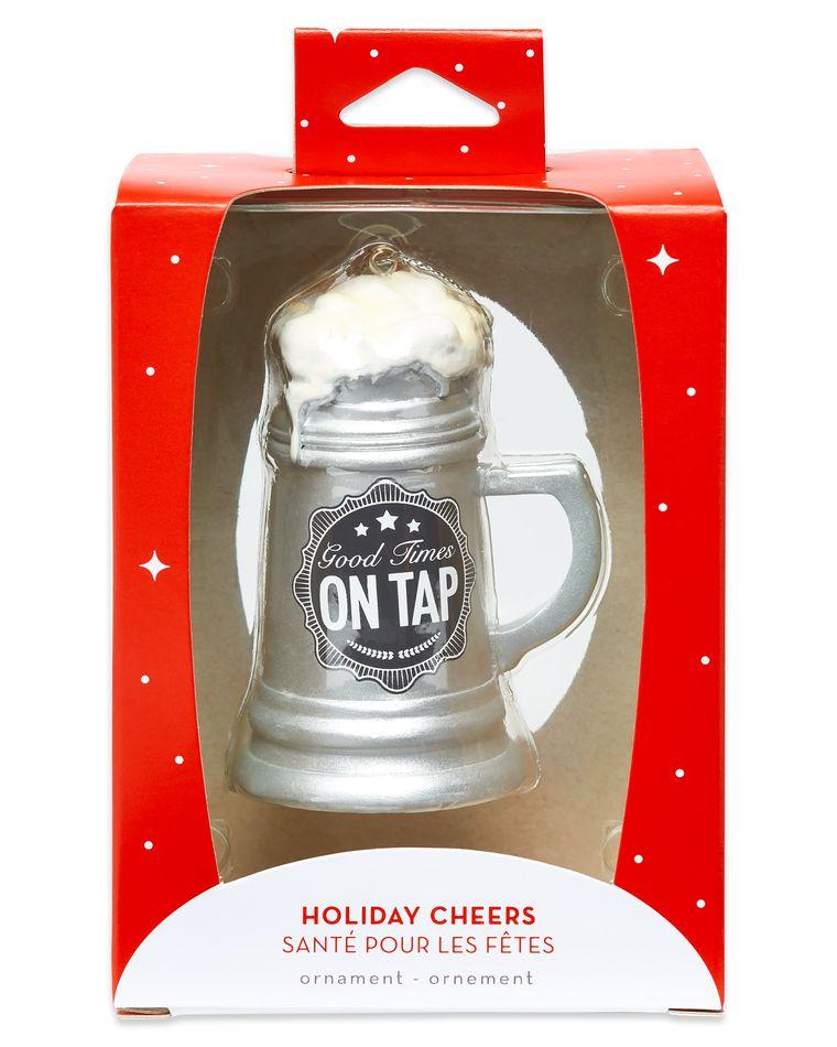 Beer Mug Christmas Ornament
