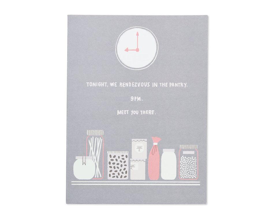 secret rendezvous valentine's day card