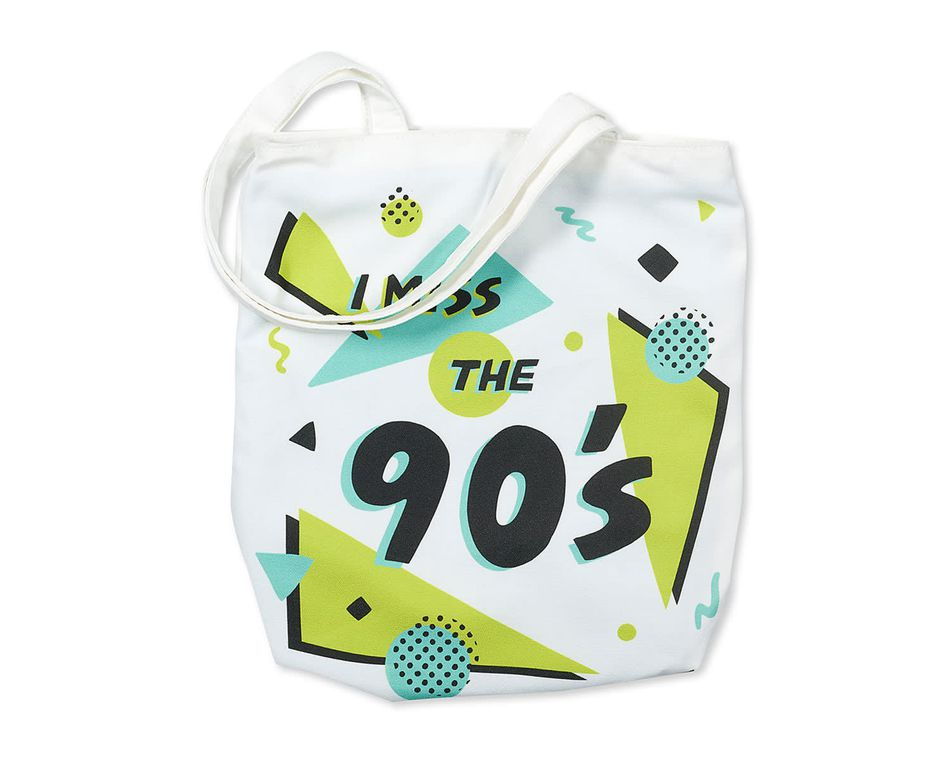 i miss the 90's tote bag