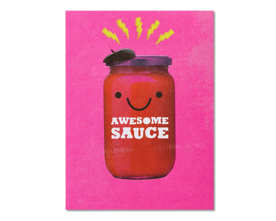 Awesome Sauce Congratulations Card
