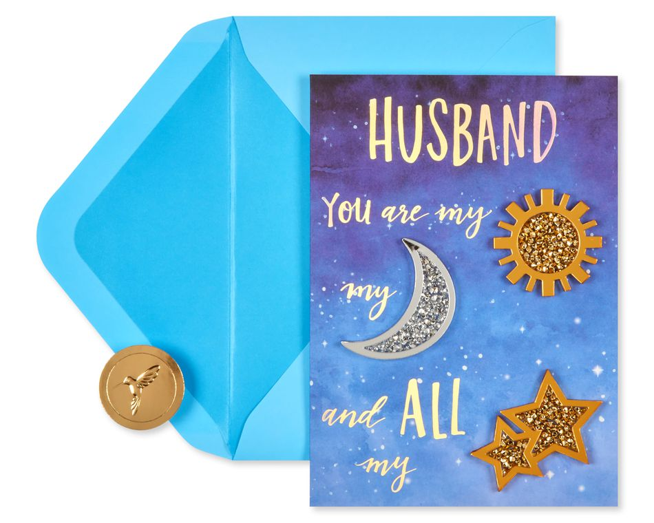 All My Stars Father's Day Greeting Card for Husband